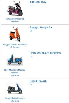 150cc vespa scooters sxl and vxl launched in india; priced at inr