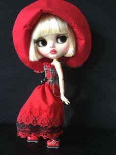 OOAK Custom Blythe Art Doll Bonnie  by Bravura by Bravuradolly