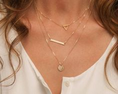 Stitch fix jewelry! Cute necklace! Try stitch fix!