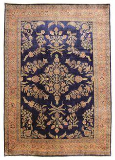 Sarug  Orientteppich nomadisch traditionell  348 x 247 cm  Rugs Perserteppich