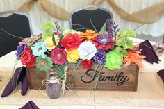gallery photo Wood Flower Box, Flower Boxes, Flowers, Centerpieces, Table Decorations, Wood Boxes, All You Need Is, Wood Pallets, Decorative Boxes