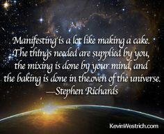 #Manifesting #StephenRichards #KevinWestrich