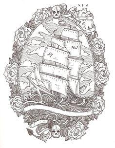 i love nautical tattoos way too much