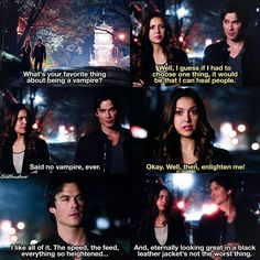 [6x20 - I'd Leave My Happy Home For You] Same Damon same