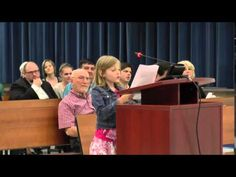 Watch This Incredible Fourth Grader Stand Up To Her School Board Against Standardized Testing