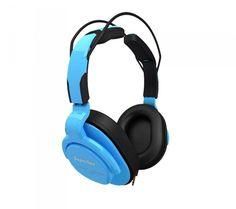 Superlux HD661 niebieskie - Słuchawki - Satysfakcja.pl - słuchawki do telefonu / słuchawki w podróży - Kolorowe słuchawki :)