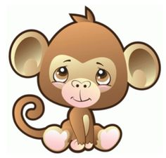safari monkey by precious moments #74516