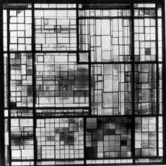 Stained glass window, Otte House, Berlin 1921-2 © The Josef and Anni Albers Foundation / Artists Rights Society (ARS), New York