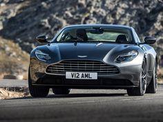 aston martin DB 11 at the 2016 geneva motor show Ferrari, Maserati, Bugatti, Lamborghini, Aston Martin Lagonda, Aston Martin Cars, Fast Sports Cars, British Sports Cars, Sport Cars