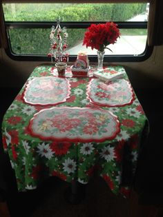 Christmas in our 5th wheel.