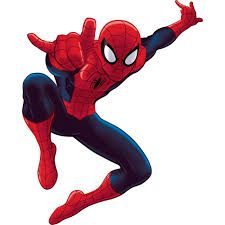York Wallcoverings RoomMates Spiderman - Ultimate Spider-Man Peel & St Red Home Decor Wallpaper Wall Decals