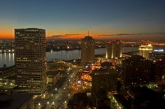 High quality skyline photo of New Orleans at. City skyline pic of New Orleans in Louisiana. New Orleans sky line. New Orleans Skyline, New Orleans City, Visit New Orleans, New Orleans Louisiana, Oh The Places You'll Go, Places To Travel, Places To Visit, Bucket List Tumblr, So Little Time