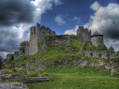 #Ehrenberg Castle ruins in Reutte, Austria.  Can't wait to go to Austria in a couple of months!