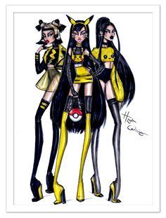 #Pikachu inspired fashions. Gotta catch 'em all! #Pokemon #PokemonGo