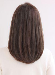Medium Length Hair Cuts With Layers, Long Layered Hair, Medium Hair Cuts, Short Hair Cuts, Medium Hair Styles, Short Hair Styles, Korean Medium Hair, Haircuts Straight Hair, Haircuts For Medium Hair