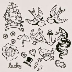 Tattoo Flash now featured on Fab.