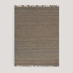 Gray Venora Flat-Woven Jute Rug | World Market