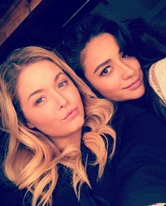 "Posted to Shay Mitchell's FB page saying ""wait on it..."" will Emily and Allison get back together during the final season??!!"