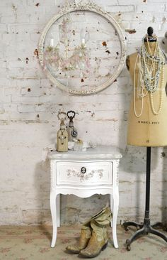 Painted Cottage Chic Shabby French Romantic by paintedcottages, $265.00