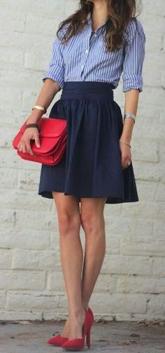 yes please, I need that skirt. so cute