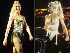 #Madonna in the #Gaultier cone bra... Blond Ambition FOREVER.