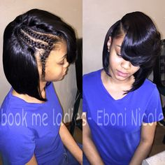 Bob Sew In Hairstyles images in Collection) Page 2 sew in bob hairstyles - Bob Hairstyles Sew In Bob Hairstyles, Black Girls Hairstyles, Pretty Hairstyles, Bob Sew In, Sew In Braids, Curly Hair Styles, Natural Hair Styles, Hair Laid, Love Hair
