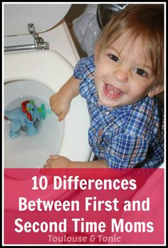 LOL Hilarious (and totally true) 10 differences between first and second time moms. | humor | pregnancy | babies | funny lists | parenting