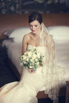 Beautiful Lace Veil.