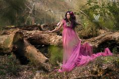 """...and it was there, in the dewy early morning light, I saw her."" Photography & Couture: Anneka Photography Model: Karishma Bhandari Makeup: Zarina MUA #Fairytale #photoshoot #nature #forest #woodland #fairy #model #photography #Epping"