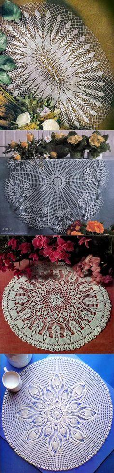 Crochet Art: Crochet Doilies Patterns - Simple Y Beautiful