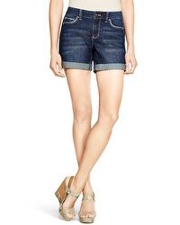 Saint Honore Dark Wash Jean Shorts