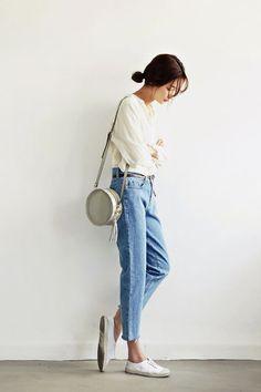 Mom jeans - jak je nosi blogosfera?, fot.tumblr sthsweet-modern-vintage