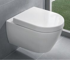 Унитаз Villeroy&Boch Subway с крышкой Soft Closing Ikea Bathroom, Bathroom Spa, Small Bathroom, Duravit, Dream Bathrooms, Amazing Bathrooms, Downstairs Bathroom, Master Bathroom, Villeroy Und Boch Subway