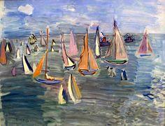 Raoul Dufy | Fauvist/Cubism painter | Tutt'Art@ | Pittura * Scultura * Poesia * Musica |