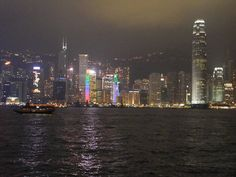 Hong Kong Night Sky
