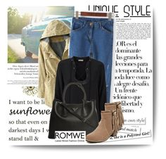 """""""ROMWE #6"""" by amelaa-16 ❤ liked on Polyvore featuring мода, Arco, Emilio Pucci и Prada"""