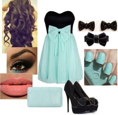 """Myricca's Birthday Outfit - Classy :D"" by queenolivia on Polyvore"