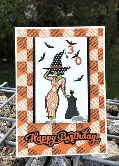 Recyclingkarte, Geburtstag und Halloween Happy Halloween, Recycling, Blog, Frame, Home Decor, Packaging, Cards, Picture Frame, Decoration Home
