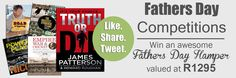 Enter our amazing Father's Day Competition with prizes from