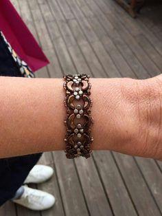 Beaded bracelet from arcos & minos beads