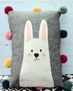 Chic Pompom Cushions – Bustle & Sew