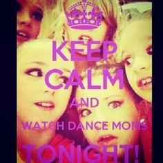 Dance moms tonight!!!!