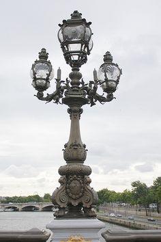 Lamps of Paris   paris street lamp