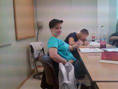 Franzi: Vorfreude auf meine bestehende Abschlussprüfung als Fachangestellte für Bäderbetriebe.