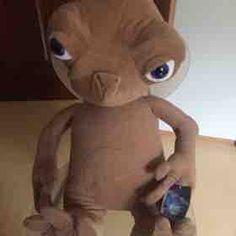 Peluche ET, nuovo originale con cartellino alto 75cm - 30,00€ Teddy Bear, Toys, Animals, Plush, Activity Toys, Animales, Animaux, Teddybear, Animal
