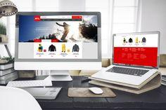 STL Snow E-commerce Webdesign