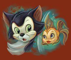 Figaro & Cleo by Pedro Astudillo