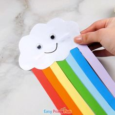 Craft ideas 560487116128937907 - We are sharing another colorful rainbow craft idea with you today as we are making a paper rainbow kid craft. Source by Ayasha_Nokomis Winter Crafts For Kids, Paper Crafts For Kids, Spring Crafts, Art For Kids, Color Paper Crafts, Art And Craft, Craft Kids, Rainbow Crafts Preschool, Preschool Crafts