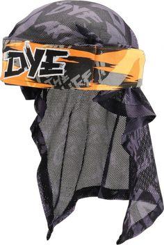 Dye Head Wrap - Tiger Stripe Orange | Paintball Gear Canada