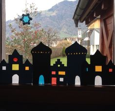 Fensterbilder #adventsfensterbild